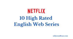 10 High Rated Netflix English Web Series