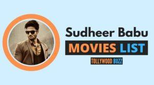 Sudheer Babu Movies List