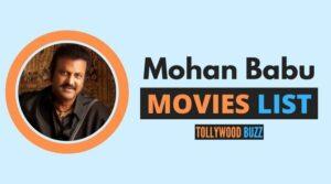 Mohan Babu Movies List