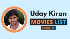 Uday Kiran Movies List