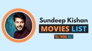 Sundeep Kishan Movies List